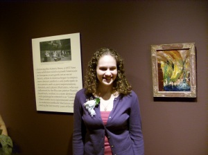 At the America: en plein air exhibit opening