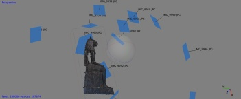 Creating a 3D model from photographs in Agisoft's Photoscan