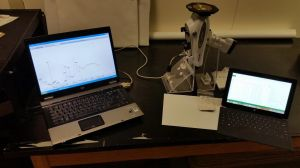 The pXRF setup for obsidian sourcing at the New York State Museum